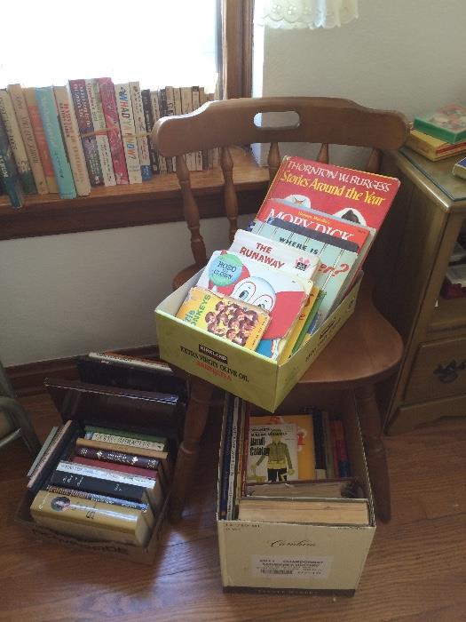 Vintage Children's Books & More