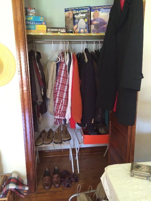 Clothing (Mens L), Shoes (Mens L), & More