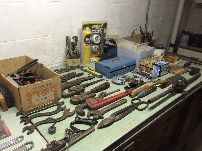 Vintage & Newer Tools