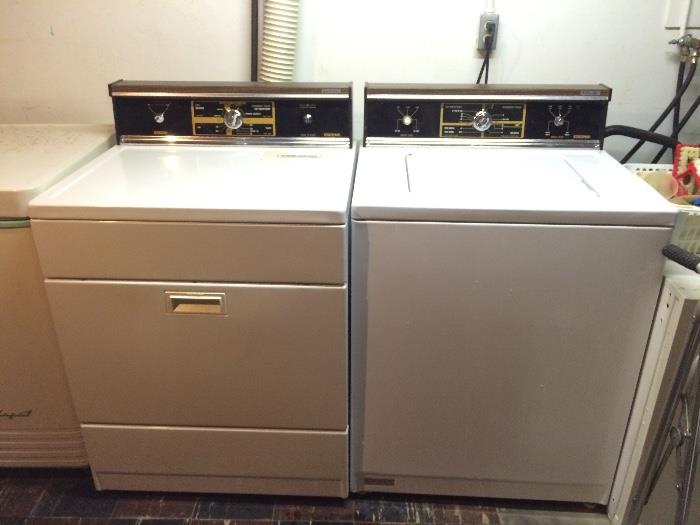 Kenmore Washer (Works!) & Dryer (Dryer Works But Takes A While, Probably Just Needs Thorough Cleaning)