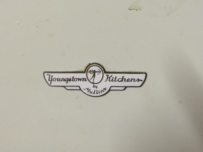 Emblem on Sink Cabinet