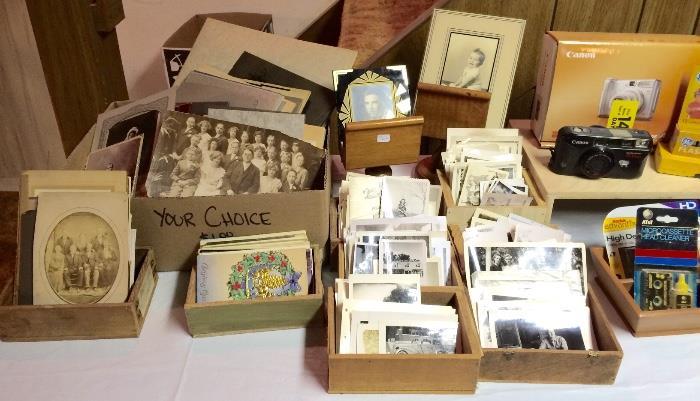 Antique & Vintage Photographs & More