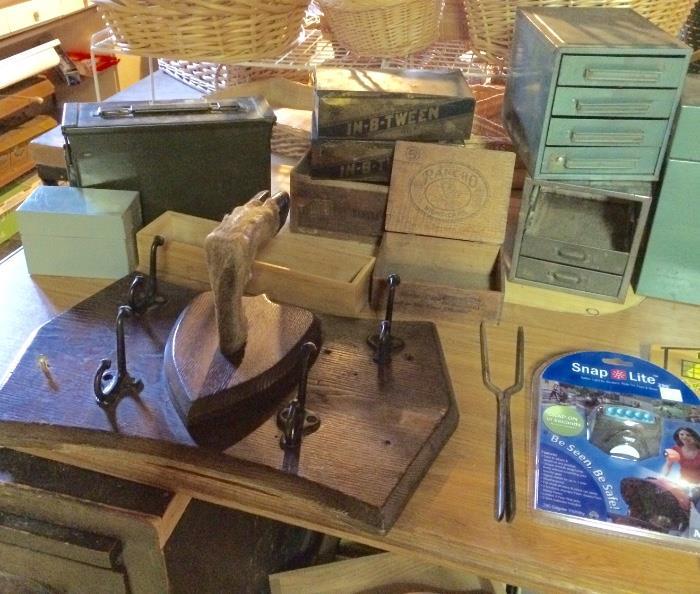 Vintage Tins, Boxes & More