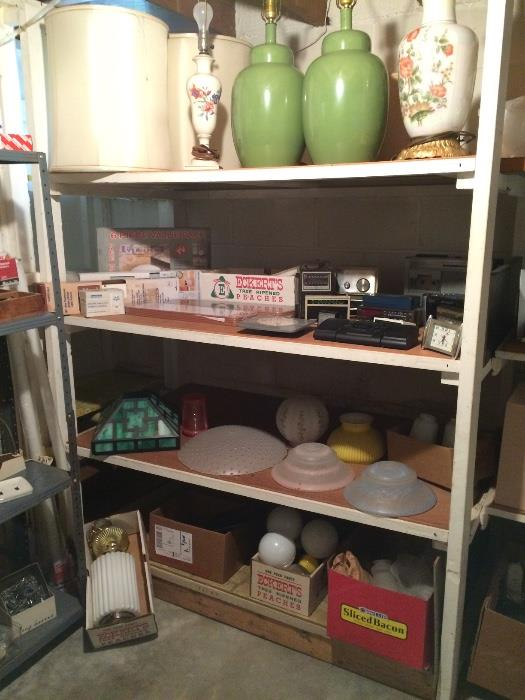 Vintage Lamps, Lamp Shades & More