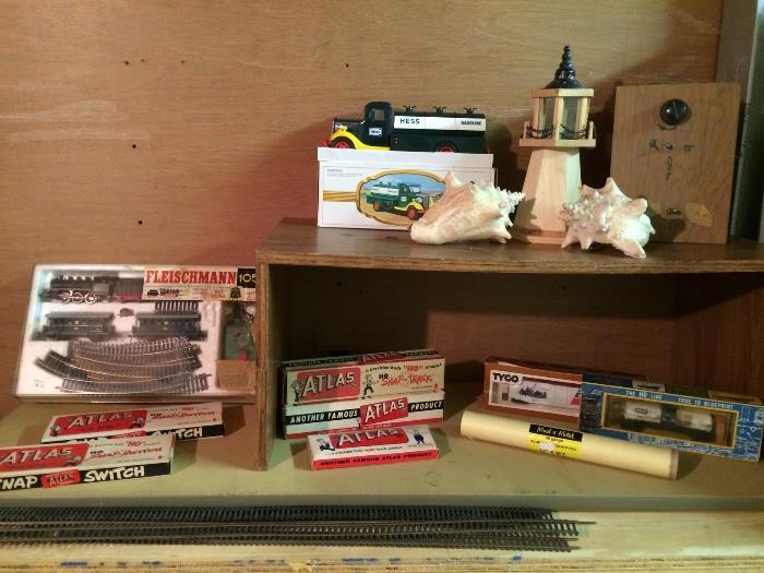 Vintage Train Toys & More