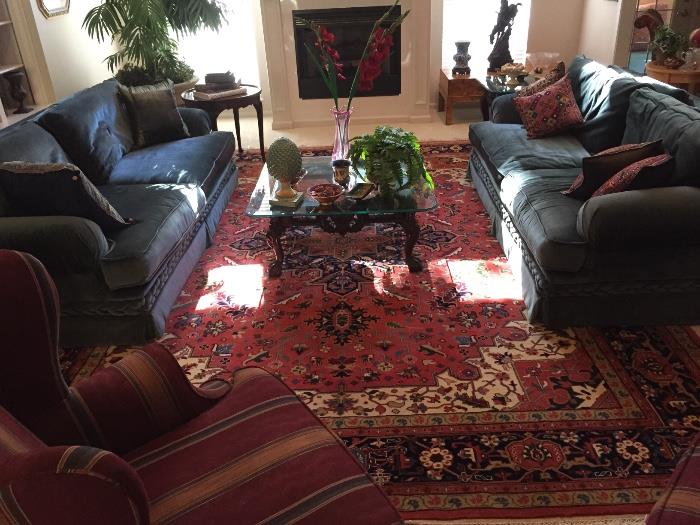Twin Matching sofas