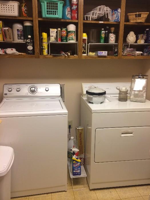 Maytag washing machine; Whirlpool dryer