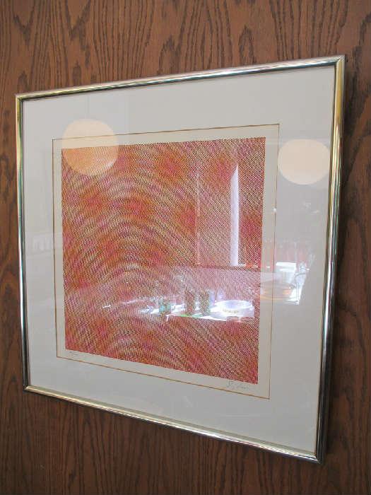 "Josef Levi ""Karen"" silk screen signed and numbered"