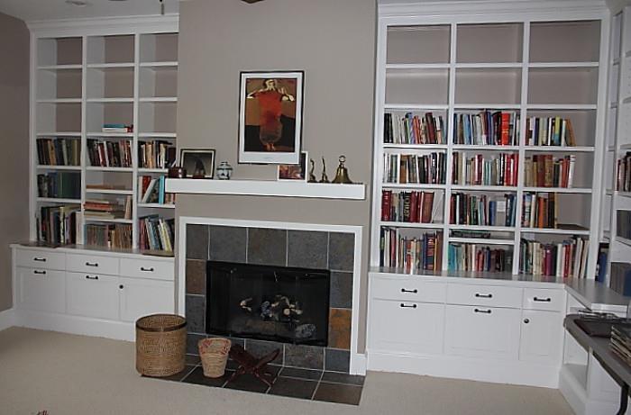 more books upstairs!