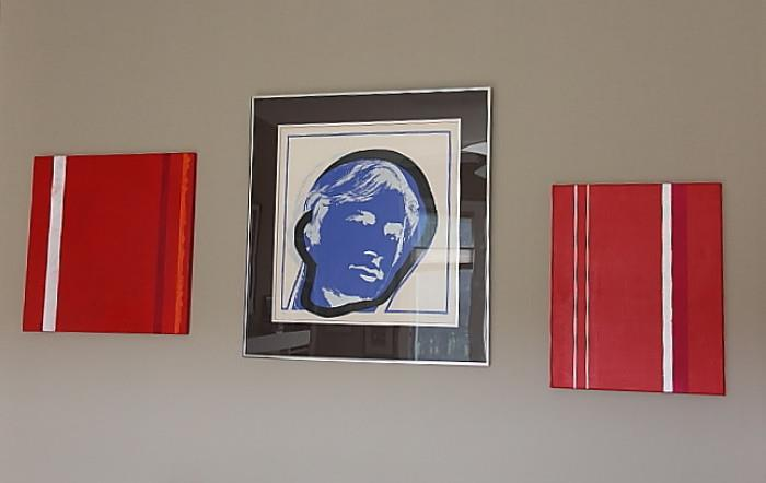 Swiss print, 1970, signed Raussmuller, numbered