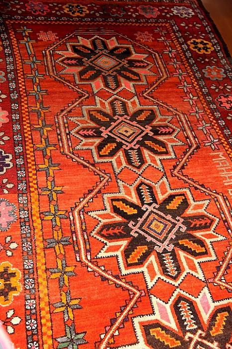 Afghan marriage rug