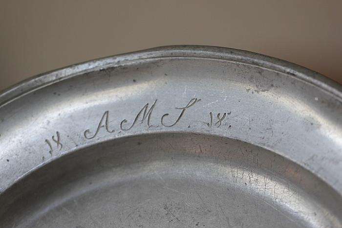 antique pewter, 1818