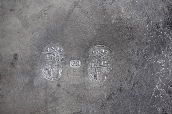 marks on antique pewter