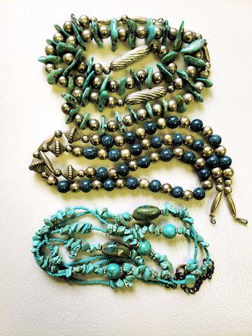 Stone Necklaces Lot
