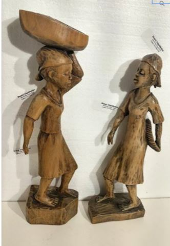African American Sculptures Signed
