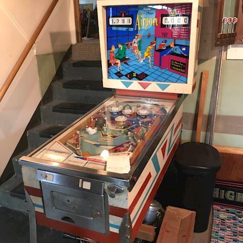 """Vintage Gottlieb """"Airport"""" pinball machine 1969"""