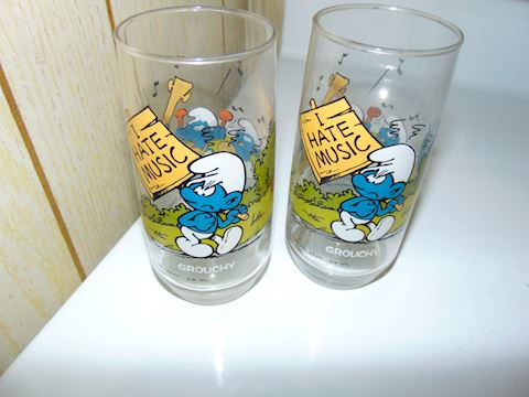 Vintage Promotional Glasses