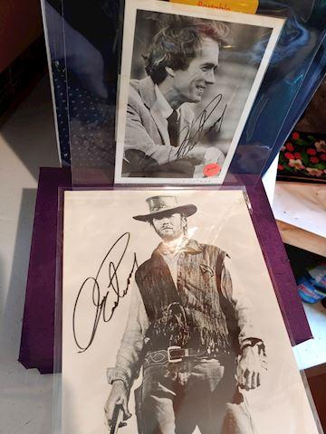 Clint Eastwood Autographs
