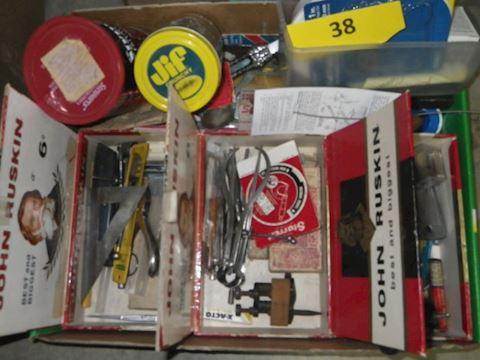 Lot #38 - Hardware (Basement)