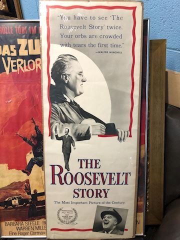 The Roosevelt Story movie poster