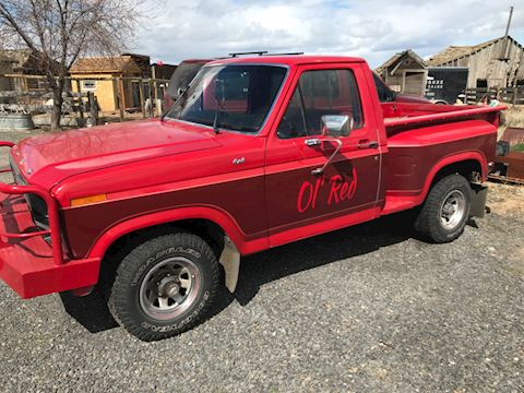 1980 FORD F150 STEPSIDE 4x4 PICKUP
