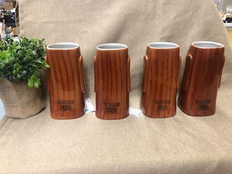 Trader Dick collectible  tiki mugs set of 4
