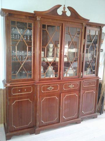 oversized china cabinet