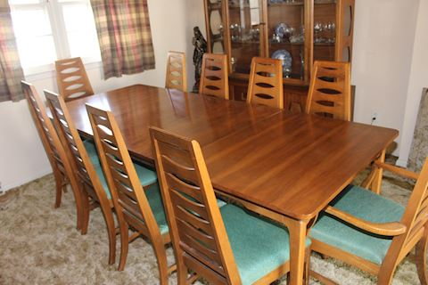 Mid Century Danish Teak Dining room set