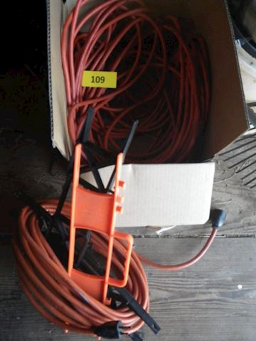 Lot #109 - Extension Cords (Shed)