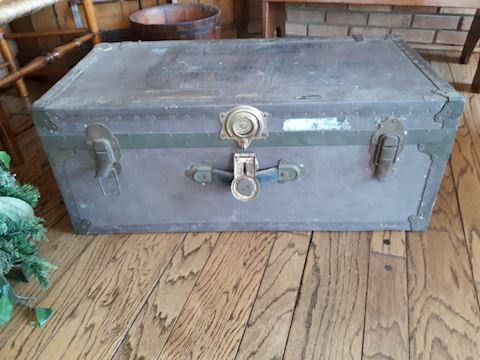 D-158...Military Trunk