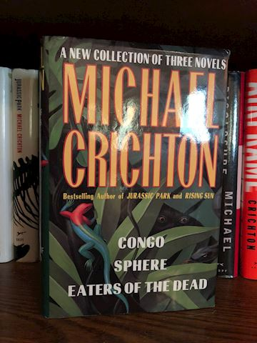 Michael Crichton Books - 13 Total