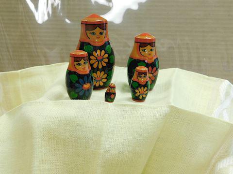 Russian nesting dolls set of five