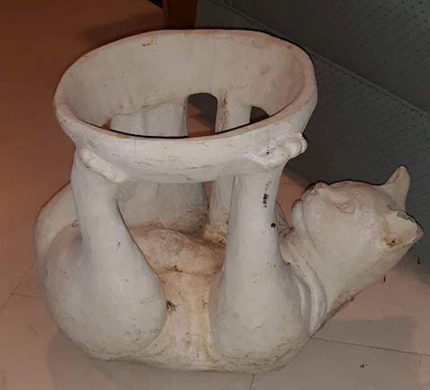 """FR  209  """"Cat Plant holder"""""""