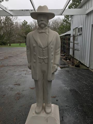Jack Daniel Statue 6-ft. 5-inches