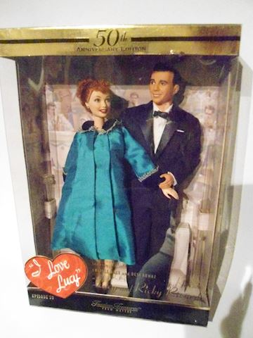 Lucy and Ricky Ricardo Doll