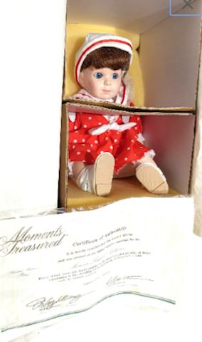 Doll Betsy #23B Porcelain