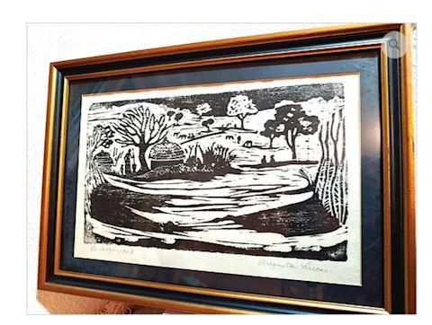 Augusta Lucas Painting Original