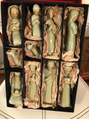 New ceramic nativity set