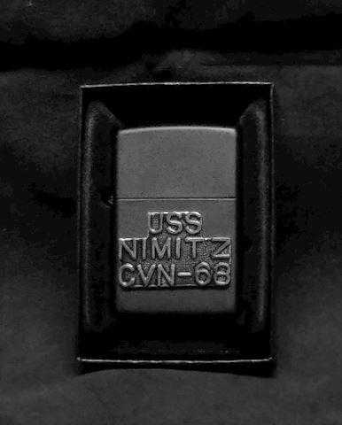 Zippo Lighter , USS Nimitz CVN 68