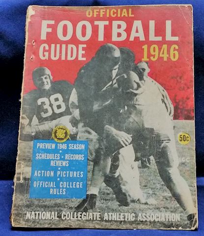 Official Football Guide- 1946