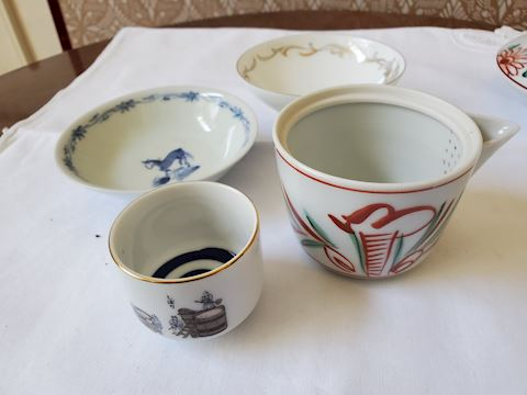 Lot of 4 Misc. Japanese dishes