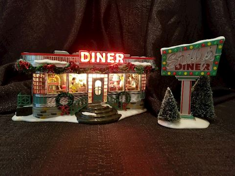 Department 56 Shelly's Diner