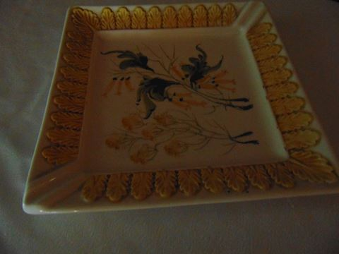 Italian decorative plate