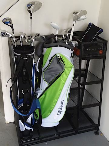 Golf Clubs, Golf Bag & Cart