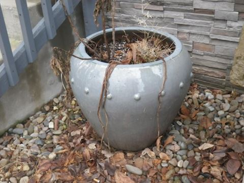 Two Large Ceramic Pots
