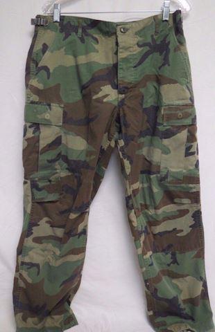 US Army Uniform Combat Pants Camouflage