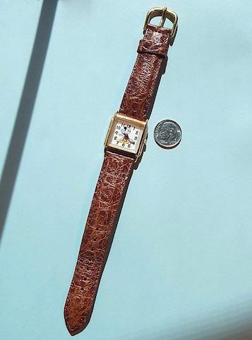 Vintage Disney Mickey Mouse Ladys Wrist Watch