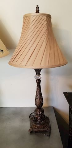 Side end table lamp