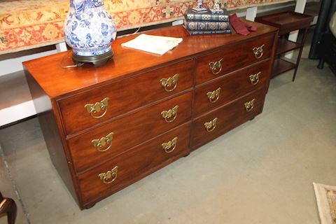 Henredon 6 Drawer Wood Dresser
