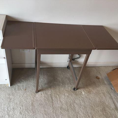 Vintage Metal Secretary Return Table
